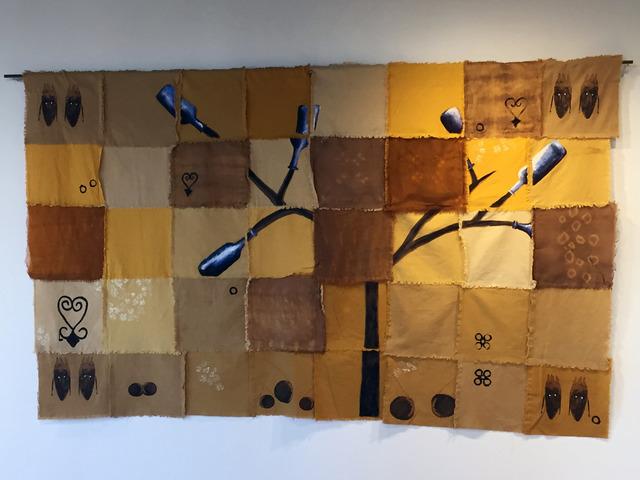 Karen Hampton, 'PRAYERS FOR FLINT', 2017, Textile Arts, Cotton, linen, synthetic and natural dyes, pigment, dye sublimation printing, Fritz + Kouri