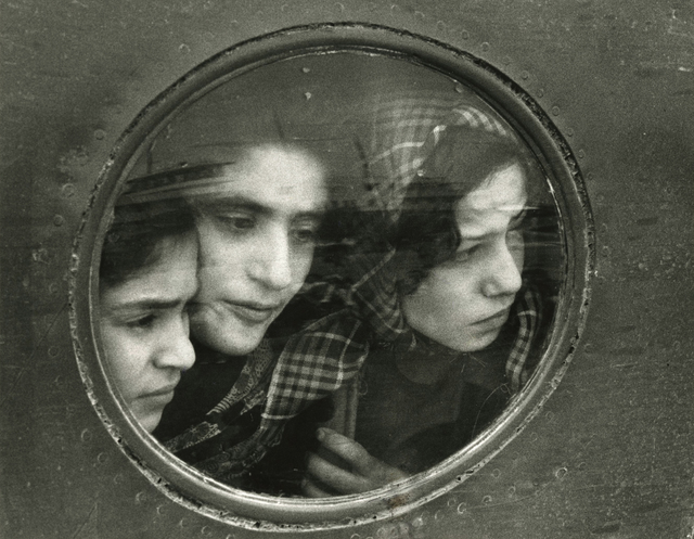 , 'Jewish Teenage Refugees from Iraq -Landing at Lydda Airport, Tel Aviv, Israel,' 1951, Howard Greenberg Gallery