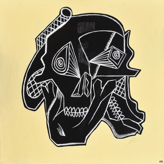 , 'Skull Study#1,' 2012, Antonio Colombo
