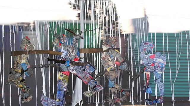, 'Recycled History,' 2017, Jenkins Johnson Gallery