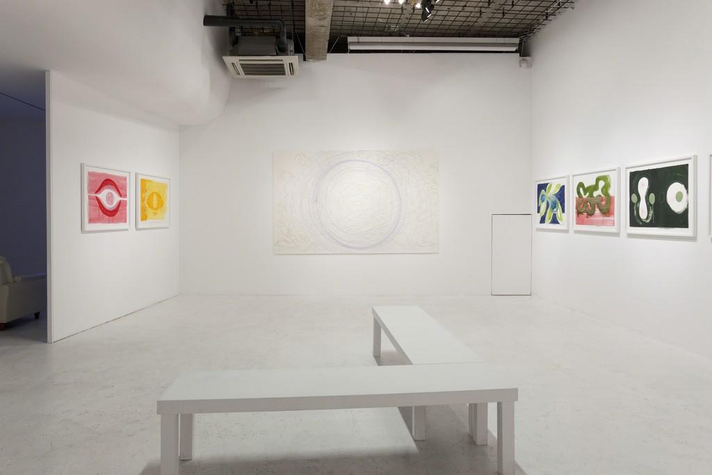 "Janaina Tschäpe ""Endless"" installation view at nca | nichido contemporary art, 2012 photo by Kei Okano"