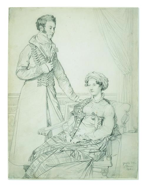 , 'Portrait of Sir John Hay and his sister Mary,' 1816, British Museum