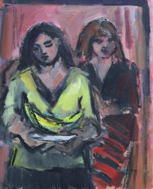 , 'Self Portrait with Cordelia,' , Gateway Gallery