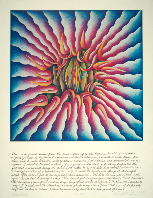 Judy Chicago, 'Peeling Back', 1974, Turner Carroll Gallery