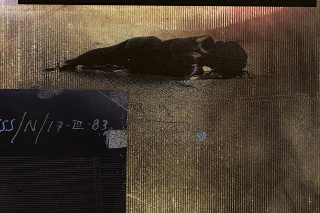 Muriel Hasbun, 'Pulse: Seismic Register 2020.02.28.048 (Niño/17-III-83)', 2020, Photography, Archival pigment print on anodized aluminum plate, RoFa Projects