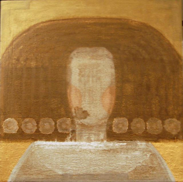 , 'Retrato dorado,' 2012, Sala Parés
