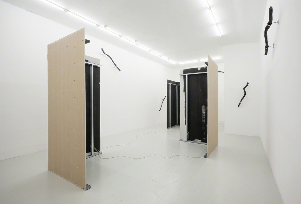 Installation view from 'David Stjernholm, The Buzz' at Last Resort.