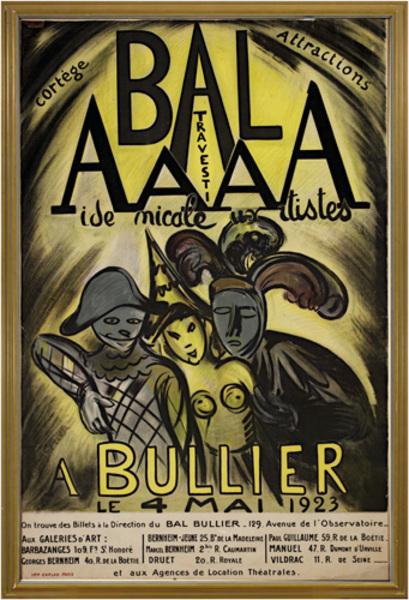 Achille Emile Othon Friesz, 'Bal AAAA Bullier', 1923, David Barnett Gallery