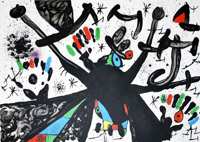 Joan Miró, 'Homentage a Joan Prats', 1971, Georgetown Frame Shoppe