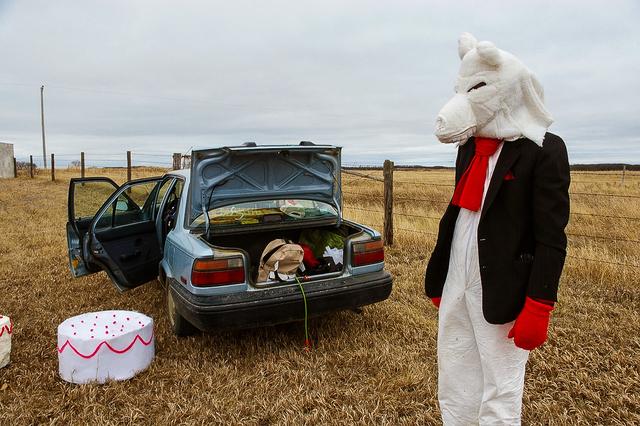 , 'Wolf with Stuntcake,' 2008, dc3 Art Projects