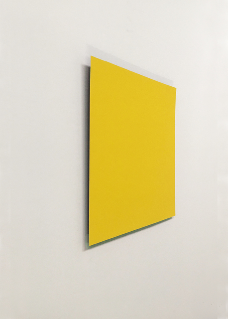 , 'Yellow:Violet,' 2018, Galerie Wenger