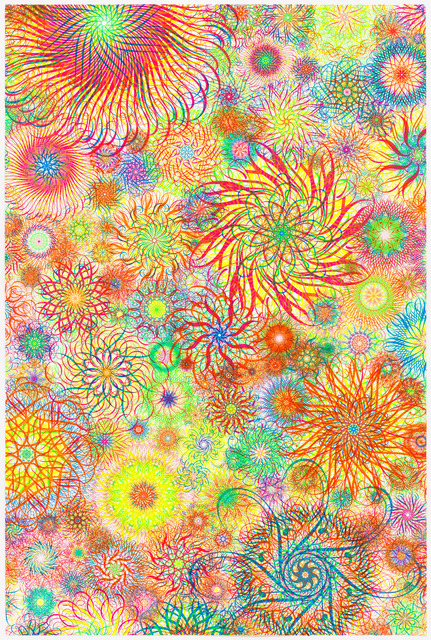 Ryan McGinness, 'Dark Energy', 2013, Print, Silkscreen, Pace Prints