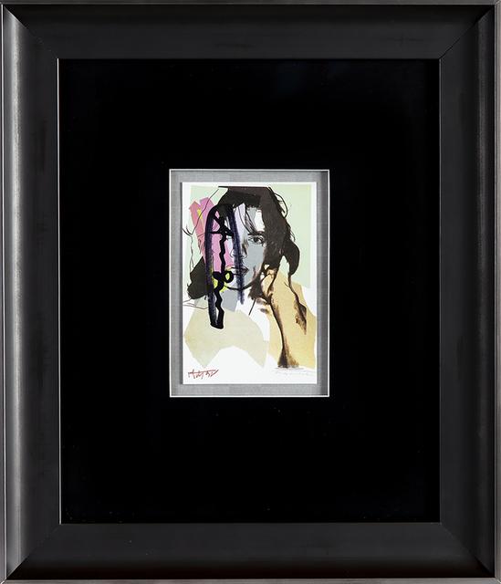 Andy Warhol, 'Mick Jagger FS.II.140 Gallery Invitation Announcement', 1975, Modern Artifact