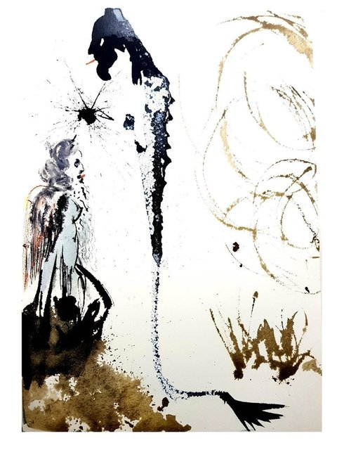 "Salvador Dalí, 'Lithograph ""The Biblia Sacra IV"" by Salvador Dali', 1969, Galerie Philia"