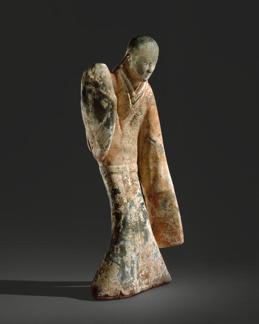 Unknown Chinese, 'Female Dancer (西漢 彩繪陶舞俑)', 2nd century B.C., The Metropolitan Museum of Art