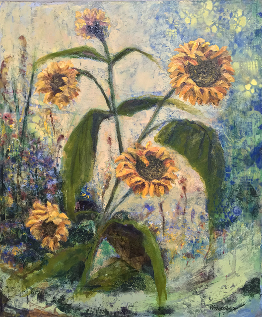 , 'Sunflowers,' , Sparrow Gallery