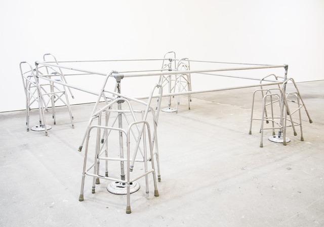 Cady Noland, 'Frame Device', 1989, Hammer Museum
