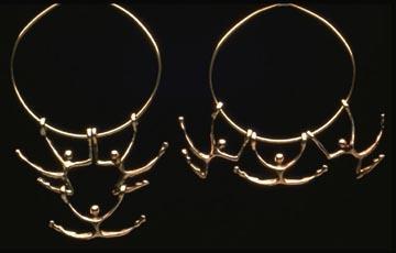 Carol Newmyer, 'Three Part Necklace', Jewelry, Bronze or silver, Zenith Gallery