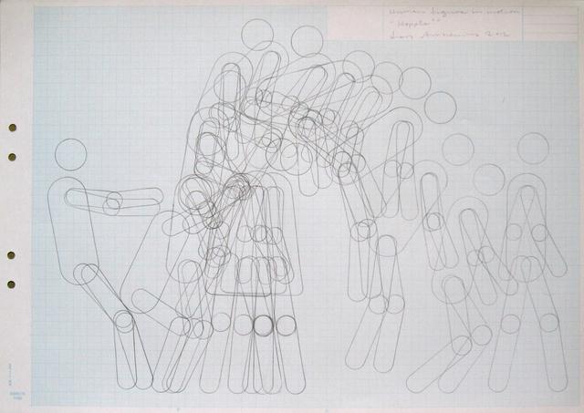 "Lars Arrhenius, 'Human figure in motion (""Hoppla!"")', 2012, Taubert Contemporary"