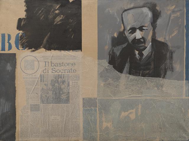 Bruno Di Bello, 'Ritratto di B.C.', 1966, Il Ponte