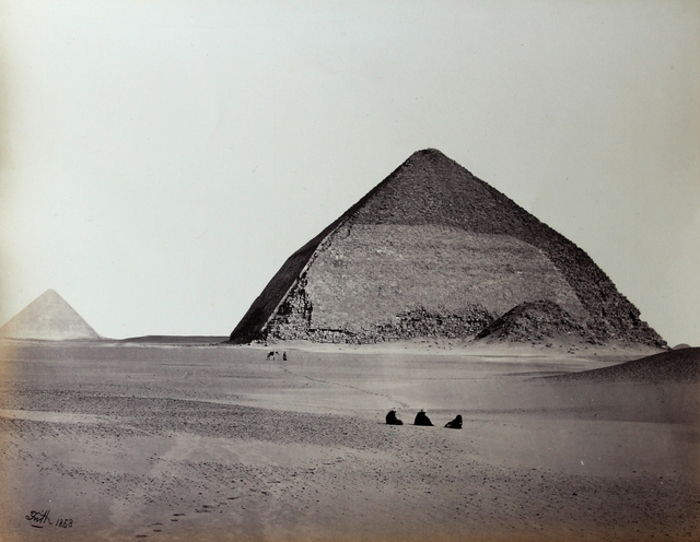 , 'Pyramid at Dahshur from the Southwest. Mammoth Plate.,' 1858, Roland Belgrave Vintage Photography Ltd