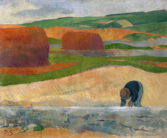 Paul Sérusier, 'Seaweed Gatherer', ca. 1890, Indianapolis Museum of Art at Newfields