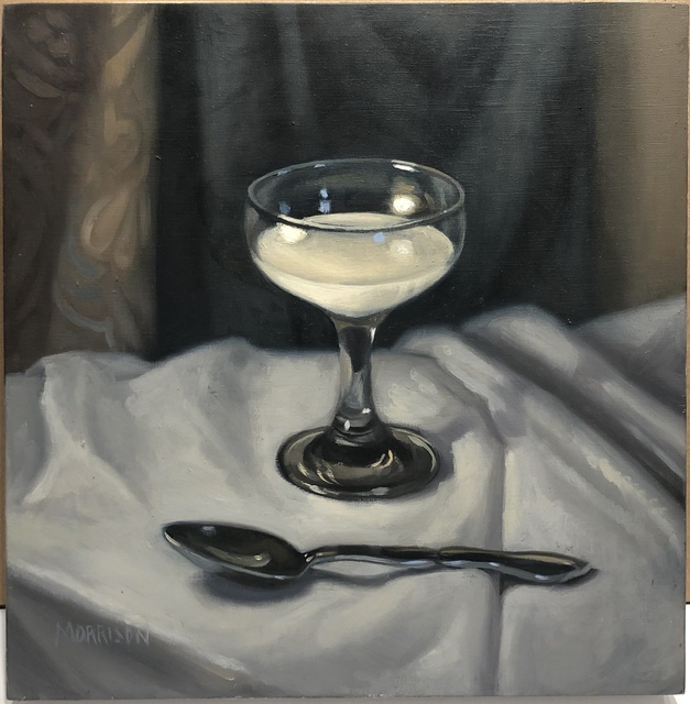 Margaret Morrison, 'Cream', ca. 2000, Painting, Oil on wood, Woodward Gallery