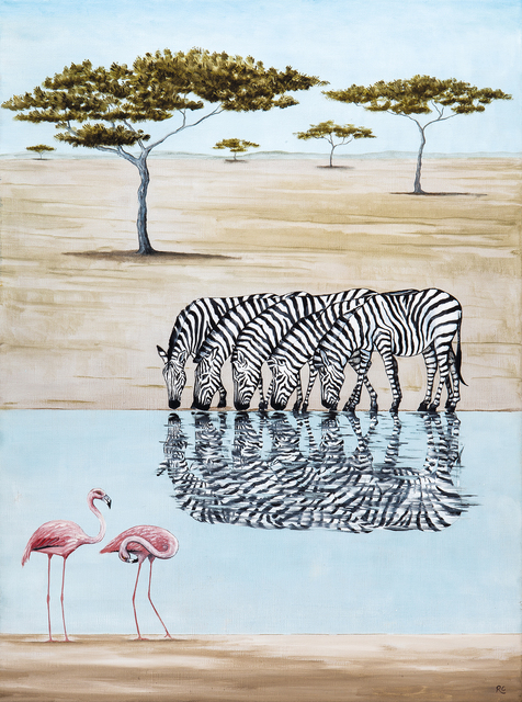, 'A Dazzle of Zebras,' 2018, Jonathan Cooper