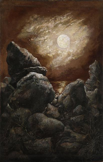 , 'Rocks at Bornholm, Denmark (Das Meer, die Felsen udn der immerwährende Mond),' 1940, Henze & Ketterer