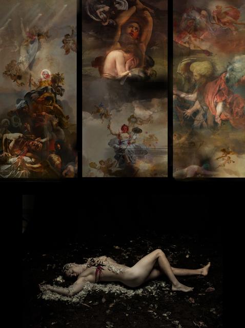ANTHONY MIRIAL, 'ANGE DÉCHU', 2015, Mark Hachem Gallery