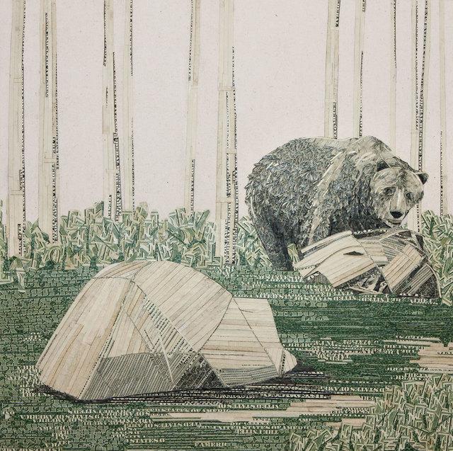 , 'Ursa's Sister,' 2012, Lois Lambert Gallery