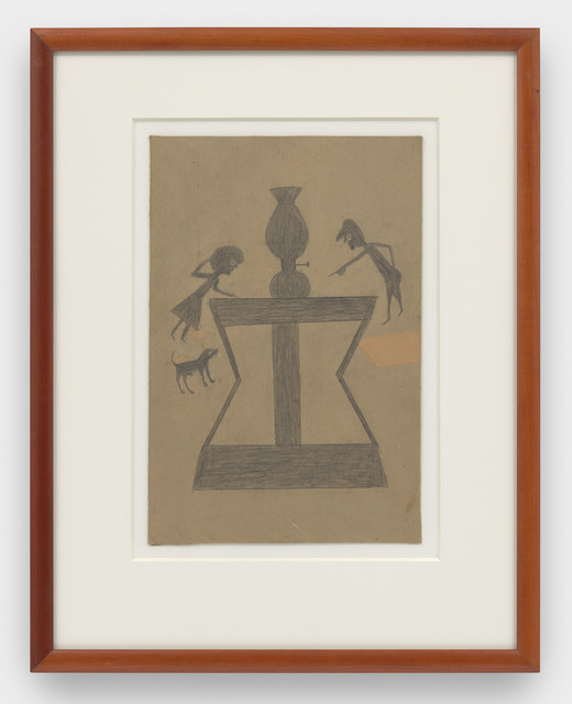 , 'Lamp, Abstract Table, Figures, and Dog,' 1939-1942, David Zwirner