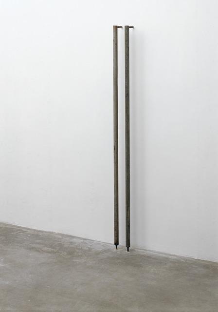 , '2 x (ø 3,5 x 167 x 12),' 1991, Galerie Isabella Czarnowska