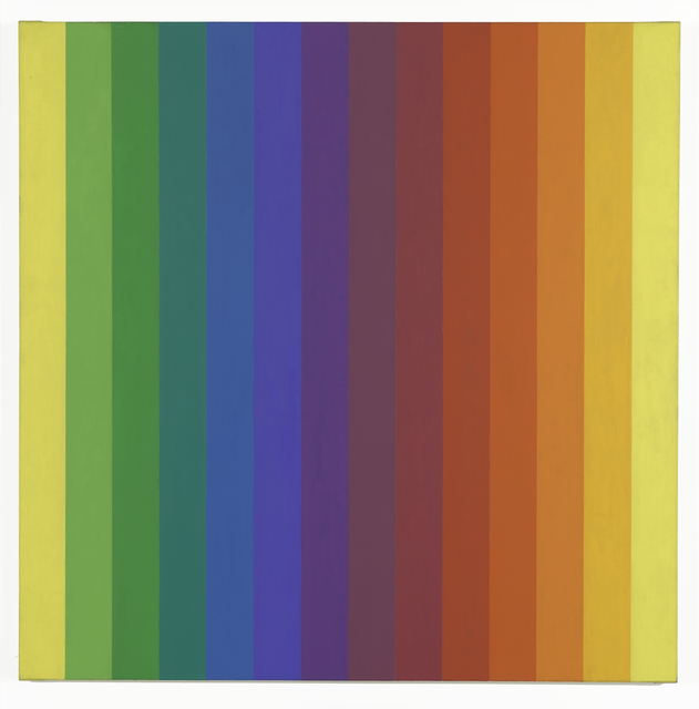 , 'Spectrum I,' 1953, San Francisco Museum of Modern Art (SFMOMA)