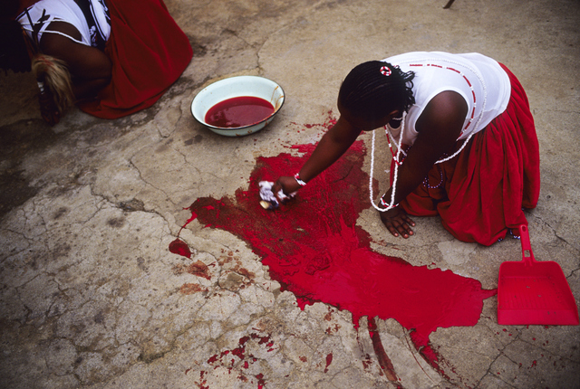 , 'Blood from a Goat,' 2005, Getty Images Gallery