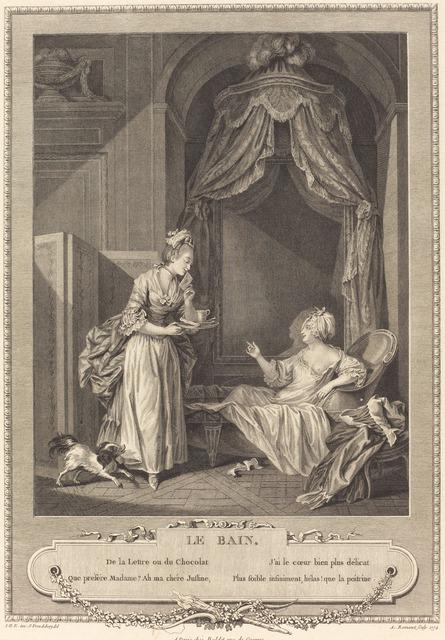 Antoine Louis Romanet, 'Le bain', 1774, National Gallery of Art, Washington, D.C.