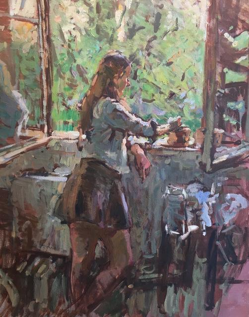 , 'Afternoon Break,' 2017, Grenning Gallery