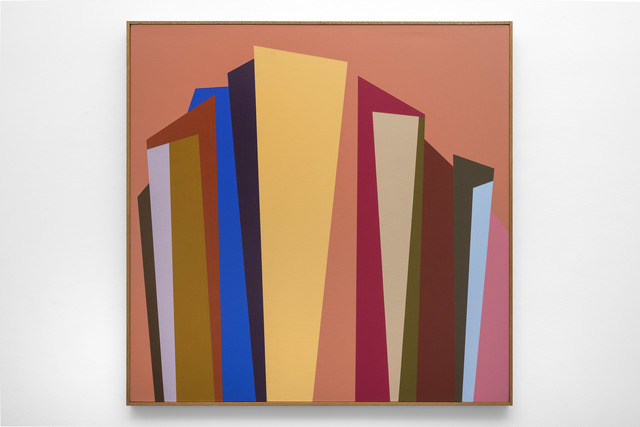 Karl Benjamin, '#5', 1987, Painting, Oil on canvas, Louis Stern Fine Arts