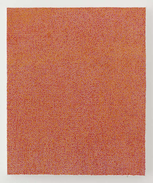 , 'Orange Red,' 2017, Jane Lombard Gallery