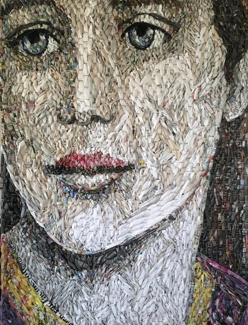 , 'Female Portrait #5,' 2018, Tansey Contemporary