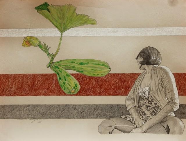 Ezequiel Ortega, 'No Title (Calabazita)', 2018-2019, La Mano Magica