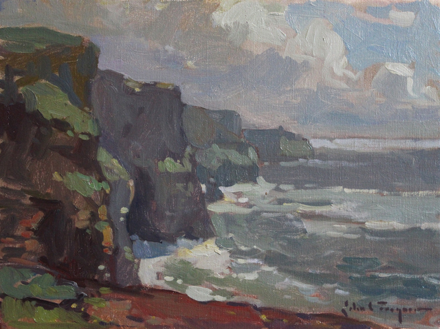 , 'Cliffs of Moher, County Clare,' 2015, J. Cacciola Gallery