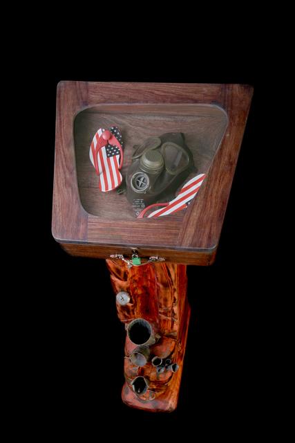 , 'Les démasqués des cinq continents, Amérique,' 2007, Galerie Galea