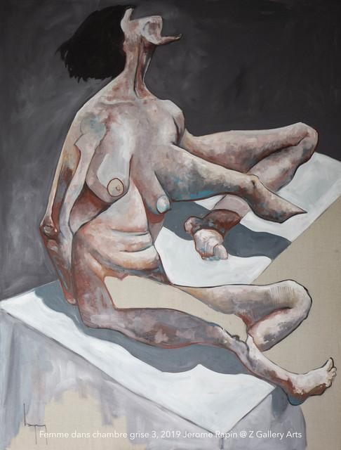 Jerome Rapin, 'Femme Dans Chambre Grise 3', 2019, Z Gallery Arts