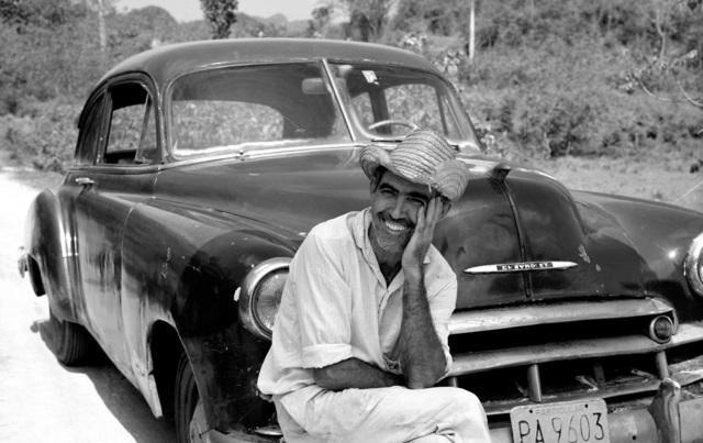 , 'Ricardo with his Chevrolet, Cuba,' , Atlas Gallery