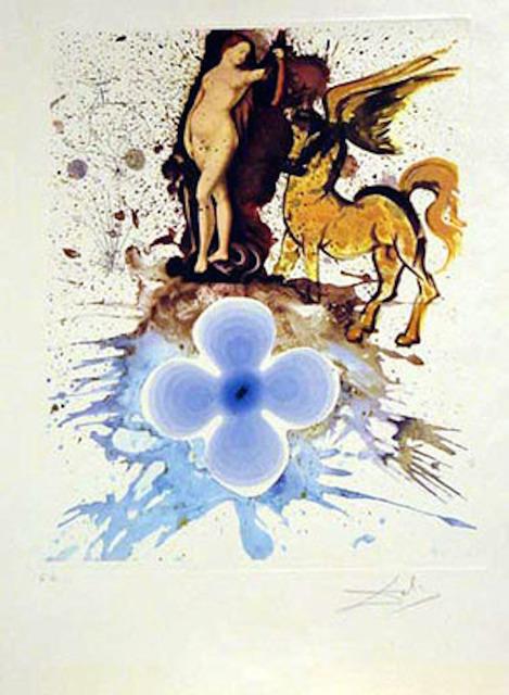 Salvador Dalí, 'Homage a Cranach', 1971, Print, Etching, Fine Art Acquisitions Dali