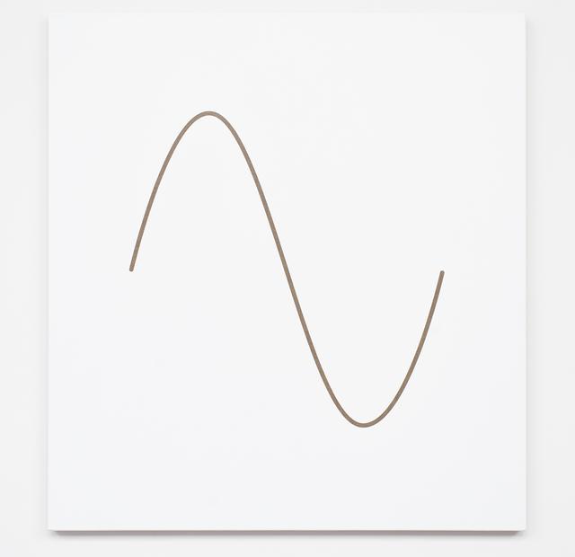 , 'Sine Wave,' 2017, Galería Hilario Galguera