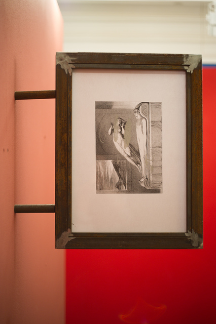 Anna Titova, 'Copy of an Engraving by William Blake in a Metal Frame Under Glass', 2013, Gallery 21