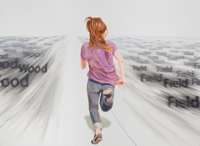 , 'September,' 2015, 532 Gallery Thomas Jaeckel