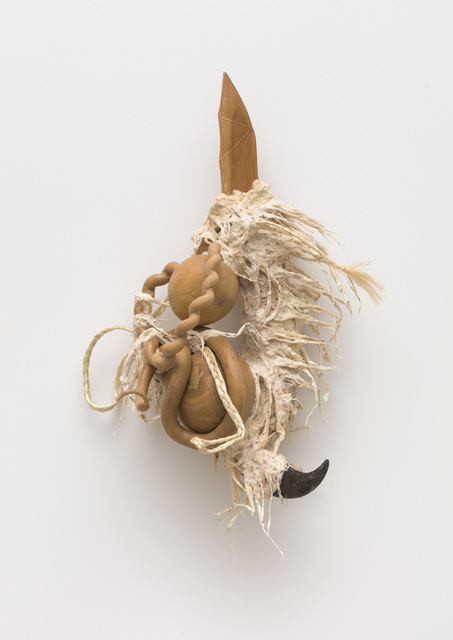 Guadalupe Maravilla, 'Ancestral Stomach 4', 2021, Sculpture, Dried gourd with mixed media, P.P.O.W